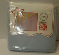 Infant Fitted Crib Sheet Blue Circo Standard USA Toddler Bed Deep pockets NEW