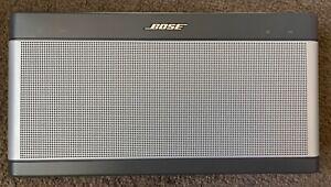 BOSE SoundLink Bluetooth Speaker III gray model 414255