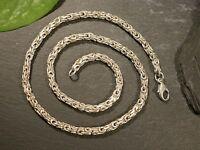 Tolle 835 Silber Kette Königskette Unisex Damen Herren Elegant Modern Elegant