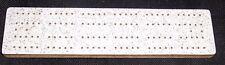 Vintage Home Made Mottled Formica Topped  Cribbage Board