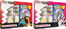 Pokemon Celebrations Lance's Charizard & Sylveon V Colección-Conjunto de 2 -! nuevo!