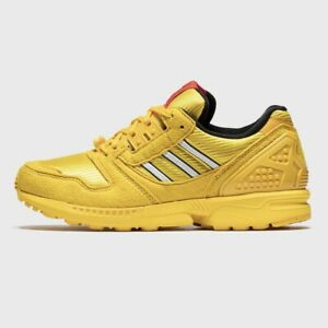 Adidas x LEGO ZX 8000 Limited Men's Athletic Shoe Yellow Trainers Casual Sneaker