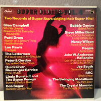 "K-TEL-Like Compilation - SUPER OLDIES VOL 4 - Double 12"" Vinyl Record LP - EX"