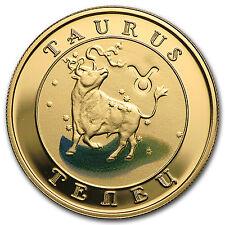 2009 Armenia Gold 10000 Drams Zodiac Series (Taurus) - SKU #97702