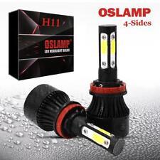 OSLAMP H11 LED Headlight Bulbs 4 Side for Honda Accord 08-17 Pilot 06-2018 6500K