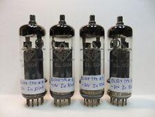2 pair (4 pcs)   EL504 tubes  made by Telefunken.