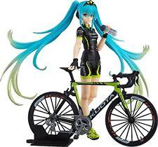 NEW figma Racing Miku 2015 TeamUKYO cheerful ver. Action Figure Japan MaxFactory