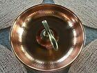 """Cuartigiana Copper Nutcracker With 11.5"""" Bowl"""