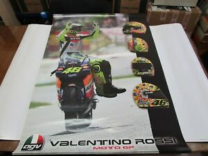 VALENTINO ROSSI HUGE MOTO GP  AGV/REPSOL HONDA POSTER