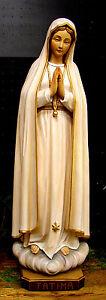 Große Fatima Madonna, Muttergottes Maria, Holy Mary, Holz, wood, NEU
