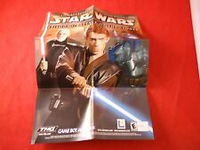 Star Wars Episode II Attack of the Clones / Jedi Power Game Boy Advance Poster