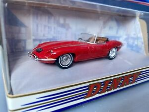 Dinky Toys Collection (by Matchbox) 1968 Red Jaguar E-Type (DY-1) - Boxed