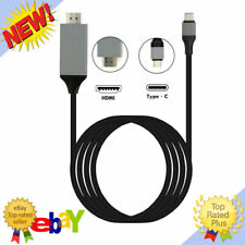 For Samsung Galaxy Note 10 9 S10 Plus Type-C USB-C to HDMI HDTV 4K Cable Adapte