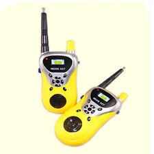 2Pcs Mini talkie-walkie enfants Jouets électroniques Portable Two-Way Radio Set