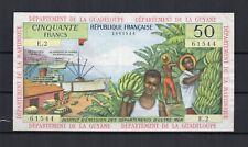 FRANCE Antilles françaises Guadeloupe Guyane Martinique Billet de 50 Frs P. N°9a