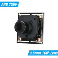 720P CCTV AHD Camera PCB Board Module Support XVI CMOS Sensor NTSC System W8A2