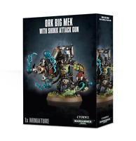 Big Mek with Shokk Attack Gun Ork Warhammer 40K NIB