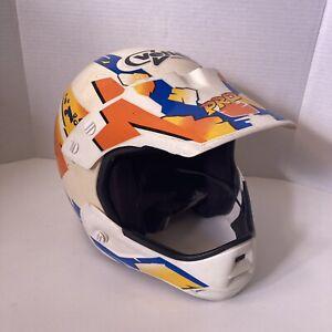 Vintage Bell Vetter Pro Series MX Helmet And Visor Motocross BMX Medium