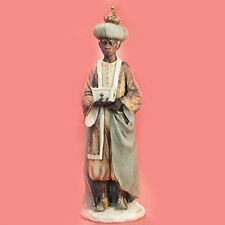 """Magi King Gold by Armani Figurine #0704C 9"""" tall Italy Porcelain New In Box"""