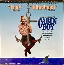"CABIN BOY 12"" LASERDISC MOVIE CHRIS ELLIOT LETTERBOX VERY GOOD"