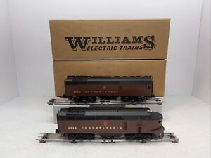 Williams Brass No.4400 Pennsylvania Sharknose AB Diesel Set O Gauge Used 3R PRR
