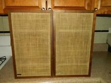 Vintage Pair Dynaco A25 Speakers Walnut Cabinets #S