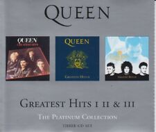 Queen Greatest Hits I, II & III The Platinum Collection 3 CD Set 2000