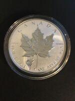 2016 Canada Maple Leaf 1oz. .9999 Fine Silver Wolf Privy Mark Coin