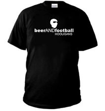 T-SHIRT BEER AND FOOTBALL ULTRAS HOOLIGANS MAGLIA INTER LAZIO ROMA NAPOLI JUVE
