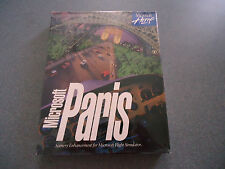Microsoft Paris Scenery Enhancement for Microsoft Flight Sim   MS-DOS   Big Box