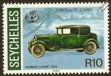 1929 HUMBER COUPE Automobile Car Mint Stamp (1985 Seychelles)