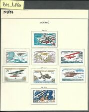 BIS_LIKE:8 stamps Monaco 1964 MH LOT MY02-593