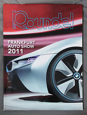 ROUNDEL BMW MAGAZINE 2011 NOVEMBER 325i M5 M6 M3 E92 E90 E46 E30 E36 F13 E24