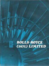 Brochure - Rolls-Royce - Company Products Capabilities Foldout - 1972 (B501)