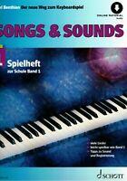 Keyboard Noten : Songs & Sounds 1 (Spielheft zu der Neue Weg ) Benthien