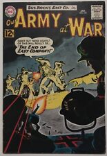 Our Army At War #126, DC Comics, Jan 1963 VG-Fine