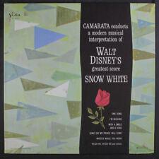 Camarata: Neve Bianco LP ( Mono, Gatefold, Originale Nero Lbl ) Easy Listening