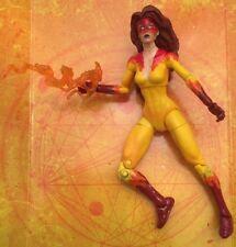 Marvel Legends Custom FIRESTAR - Spider man Iron Ice Captain America Nova Namor