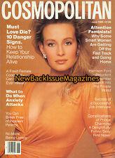 Cosmopolitan 6/88,Estelle LeFebure Hallyday,June 1988,NEW