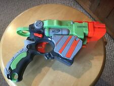 Pre Owned Nerf Vortex Proton  Gun.  MISSING THE Discs  See Pictures.