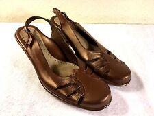 Dansko Brown Leather Women's Heels,Size 42, Made in Portugal, Good Shape!