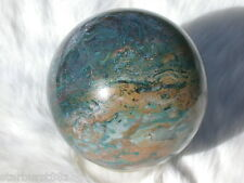 "2.8"" HAMPTON BUTTE PETRIFIED WOOD SPHERE RARE FOSSIL BALL OREGON 71.3 mm"