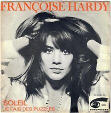 FRANÇOISE HARDY Soleil je fais des puzzles 1970 SP Sonopresse BIEM Yé-Yé girl