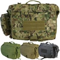 ARMY 25 LITRE OPERATORS GRAB BAG TACTICAL SPORTS MOLLE SHOULDER BAG MTP BTP CAMO