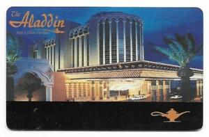 Aladdin Casino, Las Vegas, NV, used, blank slot or players card, # aladdin-4b