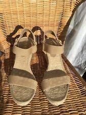 Lauren Ralph Lauren Espadrille Wedge Sandals UK 5 US 7.5 EUR 38