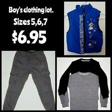 Boy's Clothing Lot 4 pieces sizes 5, 6, 7 ( vest, pants, shirts)