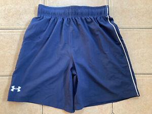 UNDER ARMOUR Mens Blue Shorts.(Size Medium).