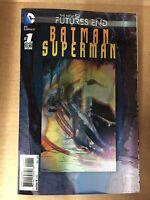 BATMAN SUPERMAN FUTURES END #1 3D LENTICULAR COVER FIRST PRINT DC COMICS (2014)