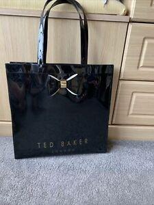Ted Baker Black Bag Shopper / Shoulder  School Student Bow